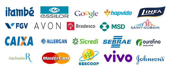 Logotipos Empresas Palestras Claudio Tomanini Treinamento De